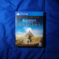 ps4 assassins creed origins deluxe edition second