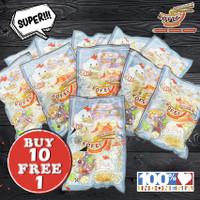 ☆BUY 10 FREE 1☆ Paket Bakmi Ayam Jamur Kofei Frozen (NON-HALAL)