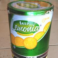 nissin biskuit kaleng lemonia 650gr