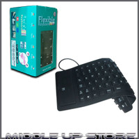 Keyboard usb flexible