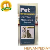 PET METRONIDAZOLE TETES - Obat Diare Anjing Kucing Kelinci Pencernaan