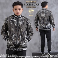 jaket bomber batik pria by Alethea | Jaket batik Premium