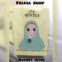 Magnet hijab / Aksesoris hijab / Pin magnet / Stik magnet
