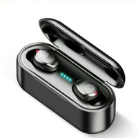 AMOI F9 5.0 BLUETOOTH WIRELESS HEADSET FITUR TOUCH - Hitam