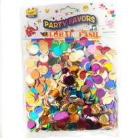 confetti isian balon / Glitter isian balon transparan / warna warni