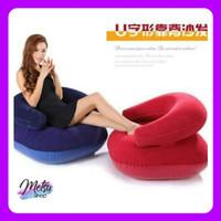 Sofa Tiup Kursi Balon Santai Empuk Arm Chair Intime + Pompa