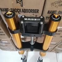 Shock USD Up Side Down Tiger Megapro CB150 CBR150 R Verza Dll Full CNC