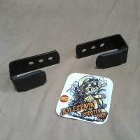 Bracket Dudukan Plat Nomor Magnet Vespa Sprint prmavera Lx S & Gts