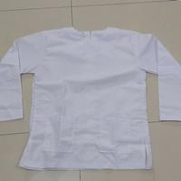 Baju Kurung Padang Putih MAN MTS SMP SMA (Seragam Madrasah) Ukuran