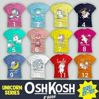 baju kaos anak perempuan / oshkosh 119