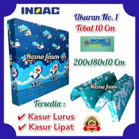 Kasur Inoac No 1 ukuran 200x180x10 - Kasur Lurus