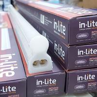 Lampu TL LED T5 20w + Kap 1 set Komplit 1200mm Putih 6500k