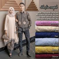 baju batik sarimbit pasangan gamis brokat