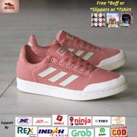 Sepatu Adidas Court 70s Pink White Original BNWB Indonesia - Sneakers