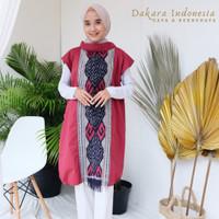 Dress Etnik Tenun Ikat Nindy Dakara Indonesia