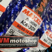 BAN MAXXIS DIAMOND 90 / 80 R14 RING 14 matic vario mio scoopy beat