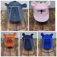 Topi Anti Corona Bayi / Pelindung wajah bayi / face shield bayi