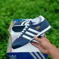 Sepatu Adidas Dragon Blue Navy White Biru Dongker Putih Original