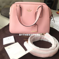 KATE SPADE NEW YORK STREET LITTLE BABE BAG PINK SUNSET 100% AUTHENTIC