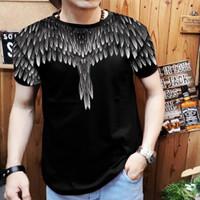 t-shirt spandek kaos cowok keren thailand batik