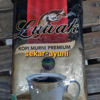 Kopi luwak premium coffee powder 165gr tanpa gula kopi murni hitam ori