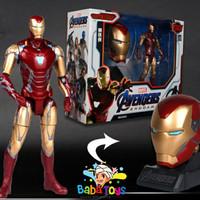Mainan Action Figure Marvel Avengers Endgame Iron Man Deformation