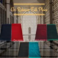 Sajadah Turkey Full Plain Ar Rahman / Sajadah Turki Total Polos