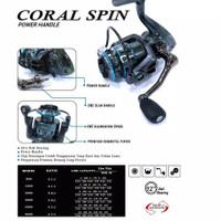 reel pancing daido coral 2000 power handle murah semarang