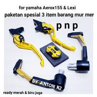 PAKETAN SPESIAL AKSESORIS VARIASI MOTOR YAMAHA AEROX 155-YAMAHA LEXI