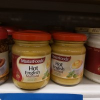 english mustard masterfoods Hot Englis Mustard