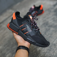 Adidas NMD R1 V2 - Black/ Solar Red