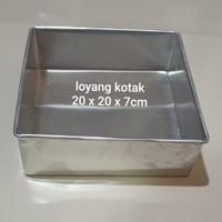 loyang kotak/loyang lapis legit/loyang cake