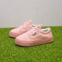 Sepatu Anak Perempuan Vans Kids Pink Model Tali Size 21 35