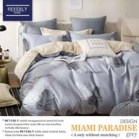 sprei dan bad cover motif miami paradise 180X200x20