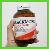 Blackmores Glucosamine Fish Oil 90 capsul glukosamin bukan gnc puritan