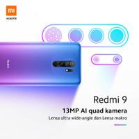 Xiaomi redmi 9 ram 4 internal 64GB 4/64 resmi xiaomi indonesia