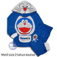 Baju Setelan Anak Doraemon PANJANG Doraemon Kostum Doraemon Baju Tidur