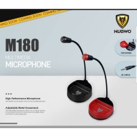 Multimedia Microphone Nubwo M180 Mikrofon Untuk Gaming / Mukbang ASMR