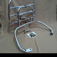 back rack sandaran Vespa gts