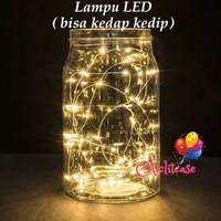 Lampu tumblr LED / lampus hias / lampu natal 10 meter dekorasi kawat