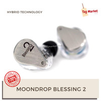 Moondrop Blessing 2 Hybrid Driver 4BA 1DD 2Pin Detach In Ear Monitor