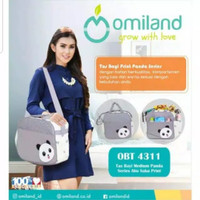 Tas Bayi Omiland OBT4311 Size Medium / Sedang Panda Series