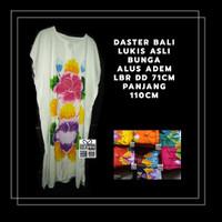 Terbaik! Daster Bali Asli Lukis Bunga. Bahan Halus Adem