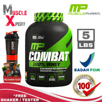 Muscle Pharm Combat 100% Whey 5 Lbs MP Combat 100% Whey Protein BPOM