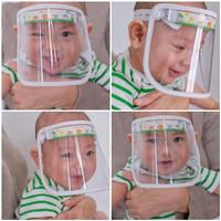 Face Shield Bayi / Masker Bayi /.Pelindung Wajah Bayi / Baby shield