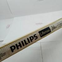 lampu neon TL philips 36watt panjang 120cm putih