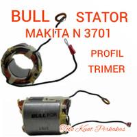 Stator bantalan armature Makita N 3701 trimer propil Bull