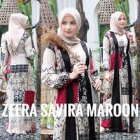 Zeera Dress Gamis Savir Ori. Daster Arab India Dubai Abaya Baju Muslim