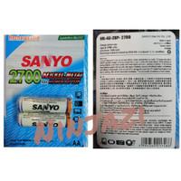 batre recharge sanyo AA