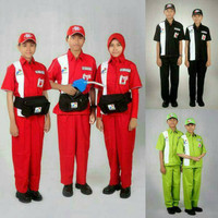 seragam spbu lengkap